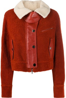 Marni Two-Tone Shearling Jacket