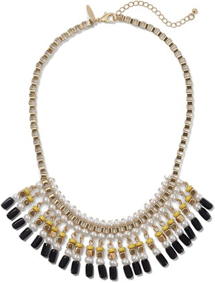 New York & Co. Faux-Pearl Beaded Collar Necklace
