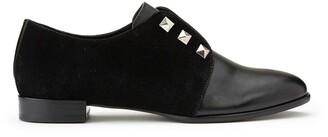 Cosmo Paris Emico Leather/Suede Brogues