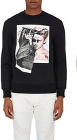 "Neil Barrett Men's ""Brad Bieber"" Neoprene Sweatshirt"