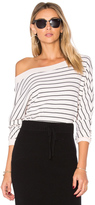 Splendid Alpine Stripe Sweatshirt