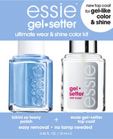 Essie Gel-Setter Duo Kits, Bikini So Teeny