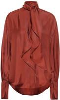 Petar Petrov Connor silk blouse