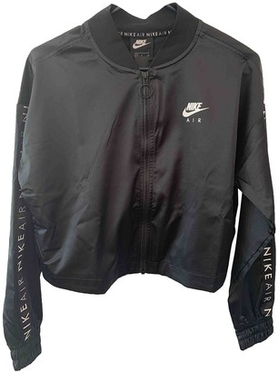 Nike Black Polyester Jackets