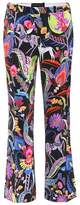 Etro Cropped satin trousers