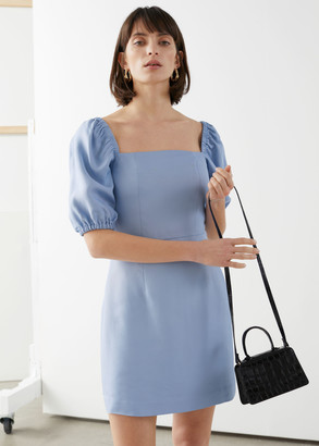 And other stories Square Neckline Mini Dress