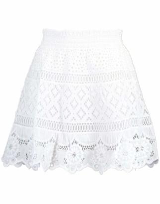 Temptation Positano Quito Mini Lace Skirt