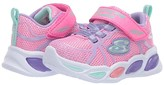Skechers Sport Lighted - Shimmer Beams Sporty Glow 302042N (Toddler) (Pink/Multi) Girl's Shoes