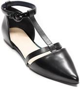 Tommy Hilfiger Final Sale-Tri-Color Ankle Strap Flat
