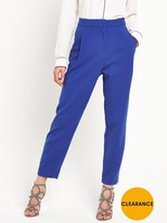 Selected Cropped Pant - Mazarine Blue