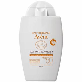 Avene Very High Protection Mineral Fluid SPF50+ Sun Cream for Intolerant Skin 40ml