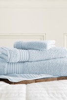 Amrapur 3-Piece Turkish Cotton Towel Set - Light Blue