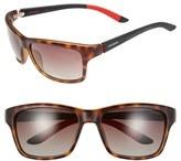 Carrera Men's Eyewear 58Mm Polarized Sunglasses - Blue/ Grey Blue Mirror