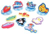 Sassy 14-Piece Adventure Foam Applique Set in Blue/Multi