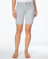 Calvin Klein Jeans Cuffed Bermuda Shorts