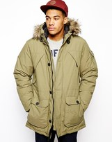 Penfield Hoosac Parka with Faux Fur Hood