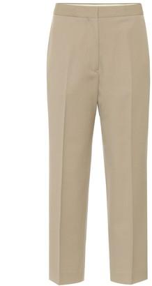 Jil Sander Mid-rise wool cigarette pants