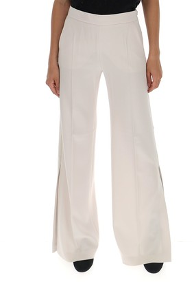 Max Mara Side Slit Trousers