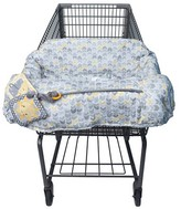 Boppy Baby Chevron Pattern Shopping Cart Cover Gray