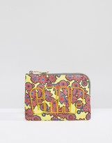 House of Holland Floral Crap Clutch Bag