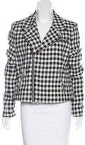 Lauren Ralph Lauren Houndstooth Moto Jacket w/ Tags