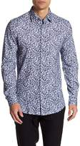 Stone Rose Long Sleeve Knitted Paisley Dress Shirt