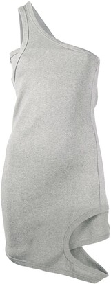 Zilver Reversed mini dress