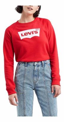 Levi's Women's Graphic Classic Crew Sweatshirt T-Shirt