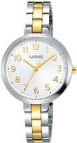 Lorus RG249MX-9 Two Tone Full Figured Dress Watch