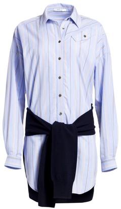 Derek Lam 10 Crosby Shirt & Sweatshirt Dress