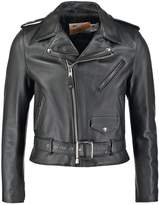 Schott Made In Usa One Star Leather Jacket Black