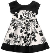 Sweet Heart Rose Sweetheart Rose Girls 2-6x Knit Colorblocked Dress
