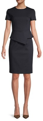 Ted Baker Asymmetric Peplum Dress