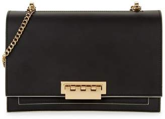 Zac Posen Eartha Accordian Leather Shoulder Bag