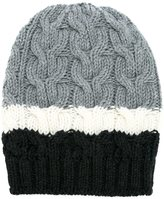 P.A.R.O.S.H. striped beanie - women - Wool - M
