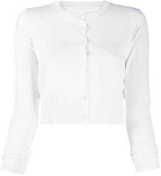 RED Valentino Buttoned Cropped Cardigan