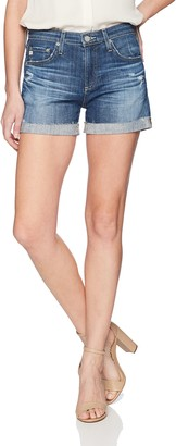 AG Jeans Women's Hailey Roll-Up Denim Short