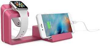 Posh Tech Dual 2-in-1 Charging Stand for Apple Watch Smartphone
