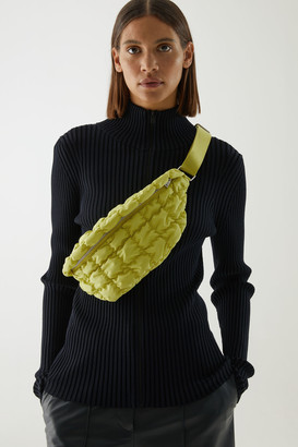 Cos Recycled Polyester Quilted Belt Bag