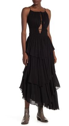 Free People Drop Dead Beauty Tiered Maxi Dress
