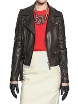 Dsquared - Biker Nappa Leather Jacket