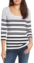 Tommy Bahama Women's Indio Sedaris Stripe Cotton Tee