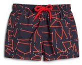 Vilebrequin Little Boy's & Boy's Text Swim Trunks
