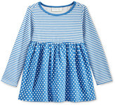 First Impressions Long-Sleeve Stripes & Dots Tunic, Baby Girls (0-24 months), Only at Macy's