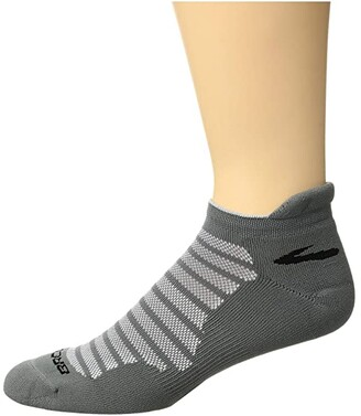 Brooks Glycerin Ultimate Cushion (Asphalt) Low Cut Socks Shoes