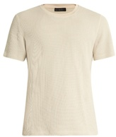 Calvin Klein Collection Perter cotton-blend knit T-shirt