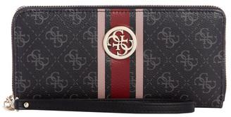 GUESS SS787646COA JENSEN Zip Around Wallet