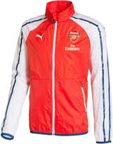 Puma Men's Afc Anthem Jacket with Sponsor, High Risk Red/White/, S