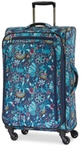 "Atlantic Infinity Lite 3 Lotus Temple 25"" Expandable Spinner Suitcase, Created for Macy's"