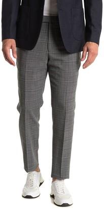 Reiss Lafite Grey Plaid Suit Separates Dress Pants
